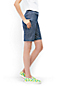 Women's Regular Chambray Bermuda Shorts