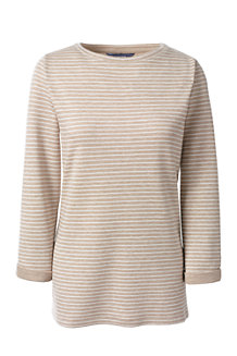 Doubleface Pullover aus Lyocell/Baumwoll-Mischung