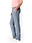Men's Regular Drawstring Linen Trousers