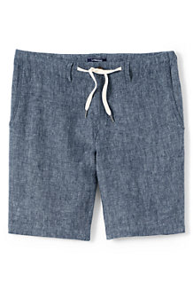Men's  Drawstring Linen Shorts