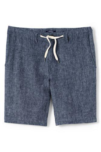 Men's Regular Drawstring Linen Shorts