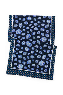 Le Foulard Coquillages, Femme