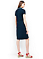 Women's Regular Short Sleeve Piqué Polo Dress