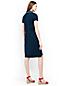 La Robe Polo Piqué Stretch, Femme Stature Standard