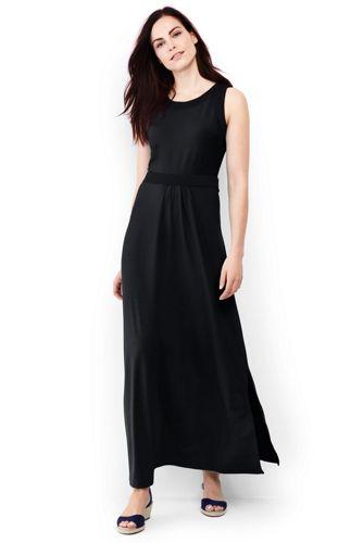 Women's Regular Stretch Jersey Maxi Dress