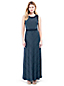 Women's Stretch Jersey Dot Maxi Dress