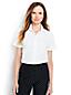 Women's Regular Supima Cotton Non-iron Short Sleeve Camp Shirt
