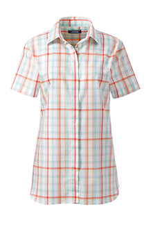 4b88d44c3e Women s Print Supima Non-iron Short Sleeve Shirt