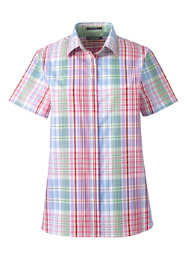 Women's Petite Short Sleeve No Iron Shirt