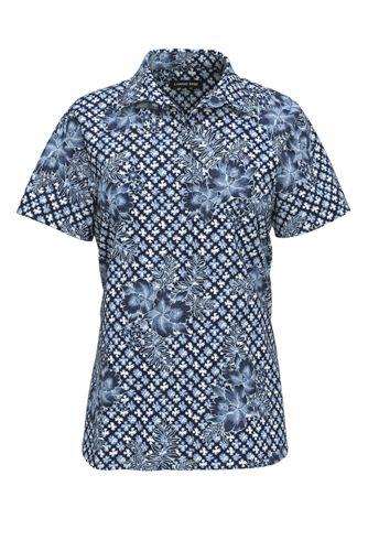 Women's Tall No Iron Supima Cotton Short Sleeve Shirt