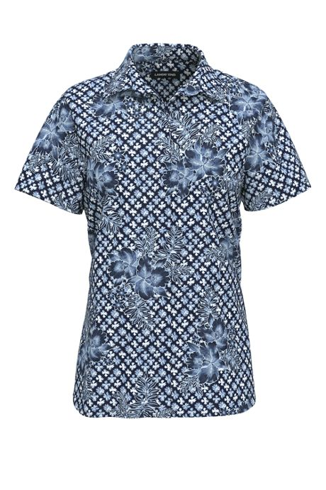 Women's No Iron Supima Cotton Short Sleeve Shirt