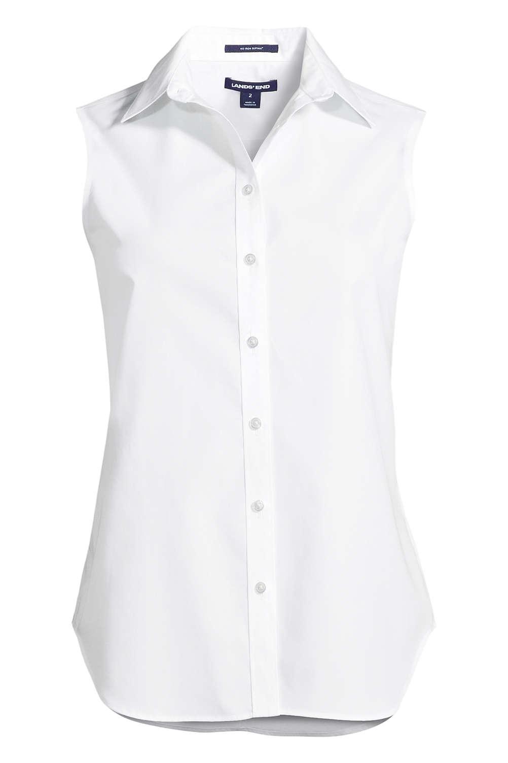 99fb3eddadeb4 Women s Sleeveless No Iron Shirt from Lands  End