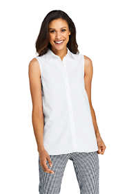 Women's Sleeveless No Iron Shirt