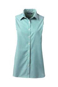 Women's Tall Sleeveless No Iron Shirt