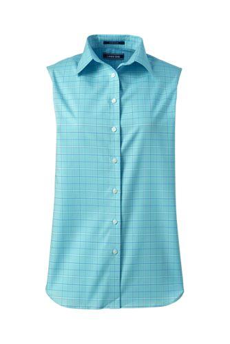 9391c08d2073c Women s Supima Non-Iron Sleeveless Shirt