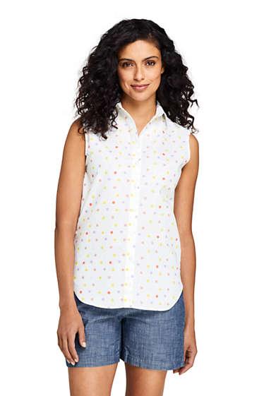 3964e7ec Women's Sleeveless No Iron Shirt from Lands' End