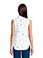 La Chemise Facile d'Entretien Sans Manches à Motifs, Femme Stature Petite
