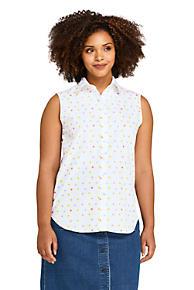 30b37b61ffbc Women's Plus Size Sleeveless No Iron Shirt