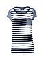 Women's Slub Jersey Stripe Pocket T-shirt