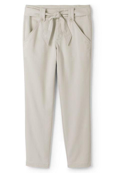 Women's Chino Tie Waist Pants