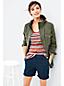 Women's Stripe Jacquard Knit Vest Top