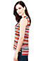 Women's Stripe Jacquard Knit Vest Top