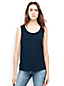 Women's Regular Sleeveless Satin-back Crepe Top