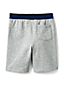 Toddler Boys' Heathered Loopback Jersey Shorts