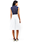 Women's A-Line Poplin Skirt