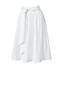 La Jupe Évasée Stretch Taille à Nouer, Femme Stature Standard