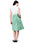 Women's Print A-Line Poplin Skirt
