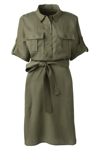 Women's Utility Shirtdress