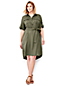 Women's Plus Utility Shirtdress