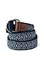 Men's D-ring Cotton Webbing Belt