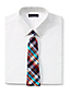 Men's Madras Check Cotton Tie