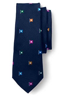 La Cravate en Soie Drapeaux Nautiques, Homme