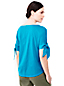 Women's Cotton Tie-sleeve Top