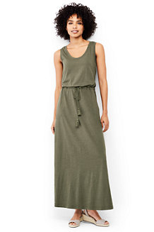 Women's Cotton Jersey Maxi Dress