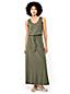 Women's Cotton Jersey Maxi Dress