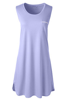 Women's Sleeveless Knee Length Supima Nightdress