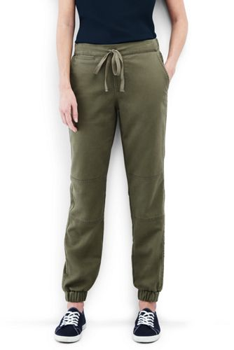 Women's Chino Patch Front Joggers