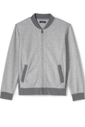 Le Bomber Loungewear en Jersey, Homme Stature Standard