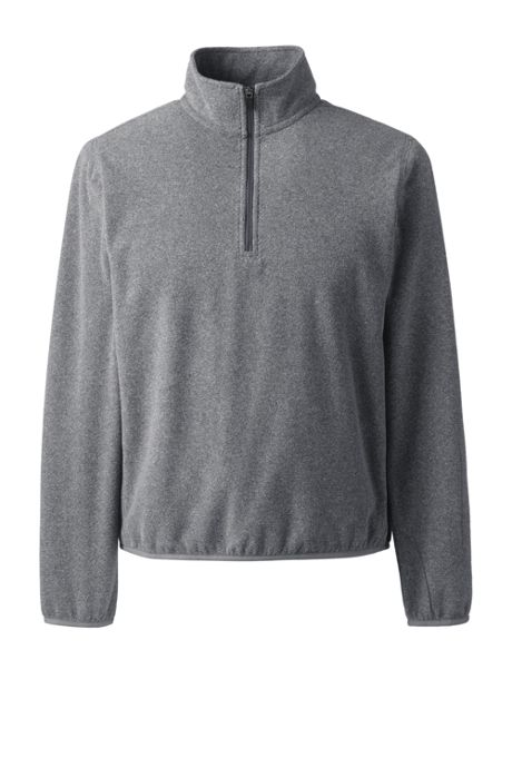 Men's Tall Thermacheck Quarter Zip Fleece