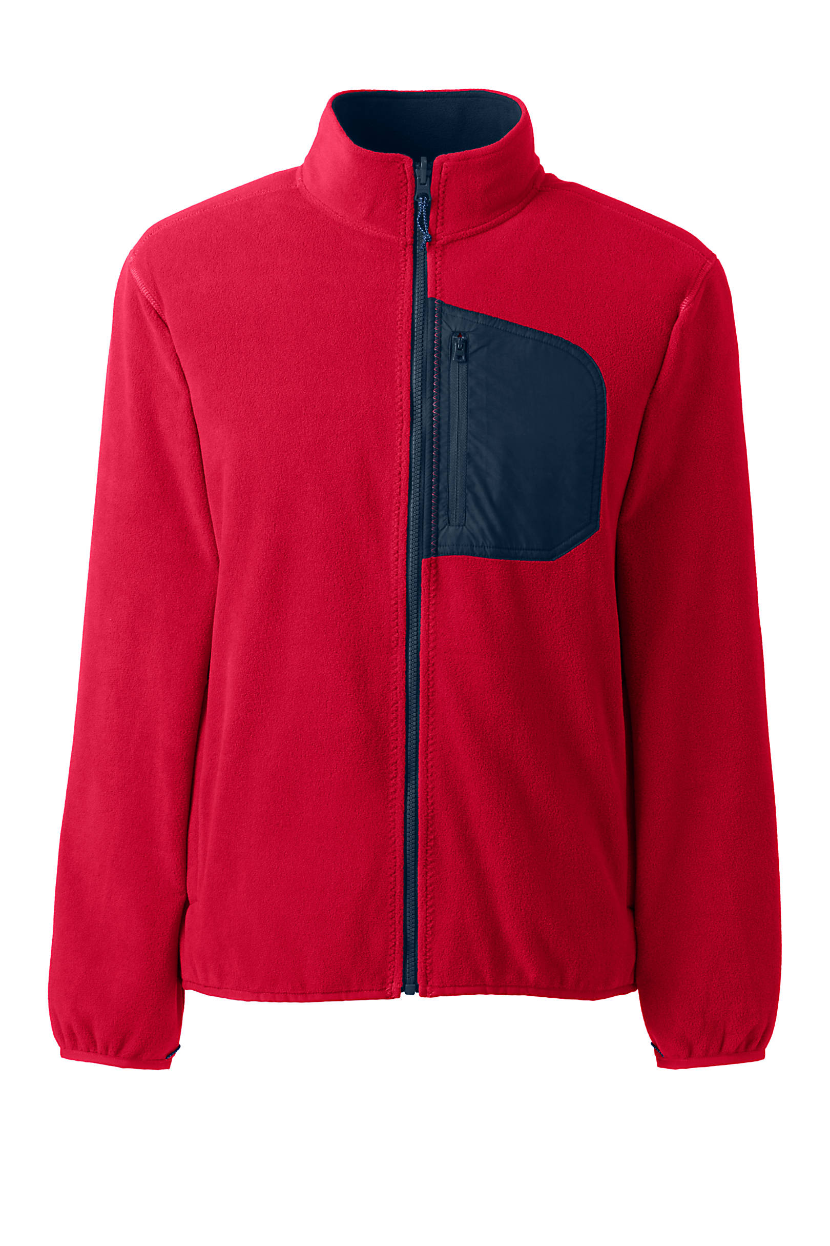 Lands' End Men's Thermacheck 200 Fleece Jacket