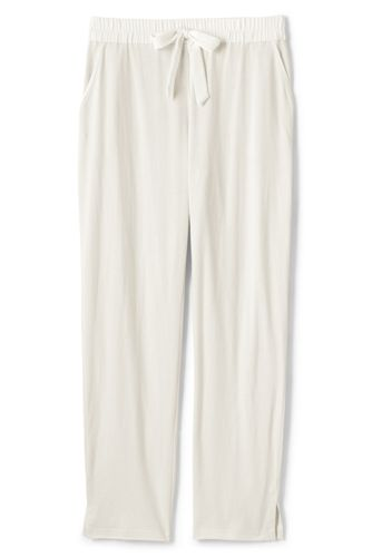 Women's Plus Ankle Length Jersey Pyjama Bottoms