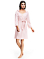 Women's Hooded Knee Length Dressing Gown