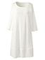 La Chemise de Nuit Manches 3/4 en Coton Modal, Femme Stature Standard