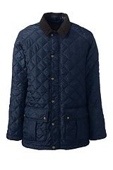 Primaloft Quilted Car Coat 489376: Classic Navy