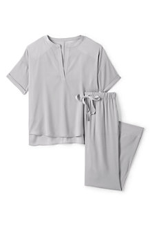 Women's Satin Crepe Pyjama Set
