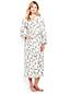 La Robe de Chambre en Supima Imprimé, Femme Stature Standard